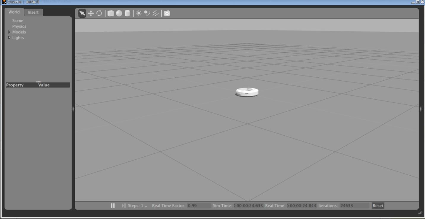 ROS] Use irobot create in gazebo with ROS - Something Useful