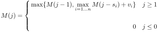 $$M(j)= \left\{
